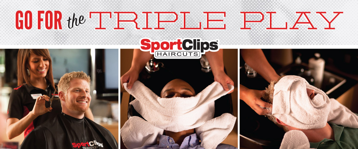 The Sport Clips Haircuts of Shops at Spring Village Triple Play