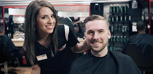 Sport Clips Haircuts of Shops at Spring Village​ stylist hair cut
